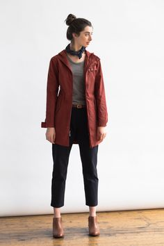 Erie Waxed Cotton Jacket