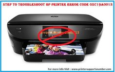 If you are using HP printer and facing these kind of error code problem then follow the above steps correctly. If still error persist and you are unable to troubleshoot the error then call @ 1800-862-1908  HP Printer customer Support Number. Here Expert techies are available to fix your any type of HP related query with satisfactory result.