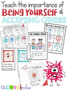 I'm Not Just A Scribble : Interactive Read-Aloud Activities Lesson Plans First Grade Writing, 2nd Grade Reading, Common Core Reading, Common Core Math, Guidance Lessons, Art Lessons, Elementary Counseling, Career Counseling, Elementary Schools