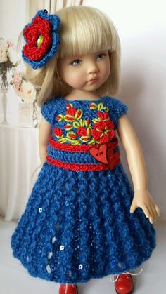 """OOAK Outfit for Doll 13"""" Effner Little Darling Collection Valentine's Day 