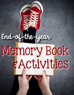 End-of-the-year Memory Book & Activities is perfect to keep your students busy during the last couple weeks of school cataloging their memories from the year, planning summer vacation and looking forward to next school year.  This memory book is perfect for second, third and fourth grades. | End of Year | Creative Writing | Second Grade | Third Grade | Fourth Grade | Teaching Writing | Teaching Reflection