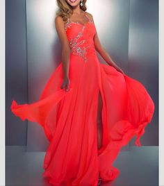 View the versatile range of neon coral prom dress short! Today i am bringing forth an awesome collection of inspiring neon coral prom dress short. Neon Prom Dresses, Unique Prom Dresses, A Line Prom Dresses, Grad Dresses, Pretty Dresses, Beautiful Dresses, Dress Prom, Dresses 2013, Party Dress