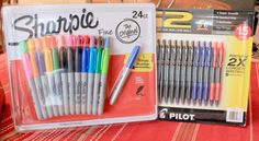 These Are A Few Of My Favorite Things…GIVEAWAY! (24) Colored Sharpie Markers