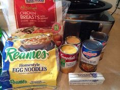 Leslie's Culinary Chronicles: Chicken & Noodles - Crockpot
