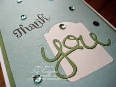 Inlaid Punch and Die Cut  by Stampin' Up! Uk Demo Peg