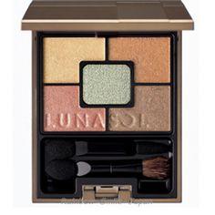 Kanebo LUNASOL GEMINATE EYES 2 Colors Makeup Eyeshadow Palette JAPAN #KaneboLUNASOL