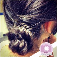 Instagram+Insta-Glam:+Fishtail+Braid+Buns+|+Beauty+High