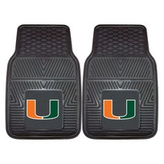 FANMATS NCAA University of Miami Hurricanes Vinyl Heavy Duty Car Mat -- Continue to the product at the image link.Note:It is affiliate link to Amazon.
