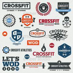 Cool Crossfit logos.