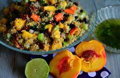Oregold Peaches Quinoa Salad