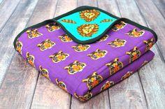 Roar   8-Layer Cotton   Reversible Cuddle Blanket
