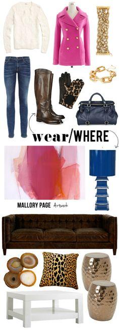 Where/Wear, Art Inspired