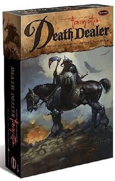 Moebius 961 Frank Frazetta Death Dealer with Horse 1/10