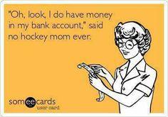 #hockey #broke