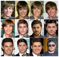 The Evolution of: Zac Efron