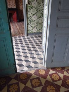 South of France tiles