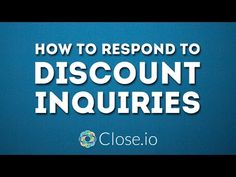 Startup Sales Negotiations 101 - How to Respond to Discount Inquiries Sales Motivation, Success, Advice, Competitor Analysis, Startups, Entrepreneurship, Hustle, Quotes, Business