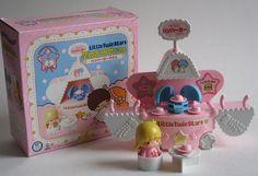 Little Twin Stars Playsets   ... 】Playset - Mini Cafe - Burger Shop ...   Little Twin Stars ♥ 70s