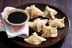 Garlic Scallop Dumplings Recipe