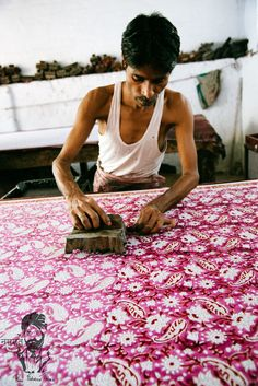 The Block Printer , India