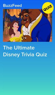 The Ultimate Disney Trivia Quiz Disney Quizzes Trivia, Disney Trivia Questions, Disney Movie Trivia, Trivia Quiz, Fun Quizzes, Random Quizzes, Trivia Games, Disney Princess Facts, Disney Fun Facts