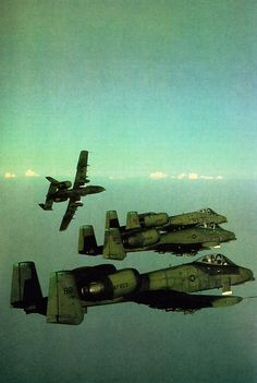 The #A10 #Thunderbolt or loving called the Warthog! This is one mean, #Tank busting aeroplane. :)