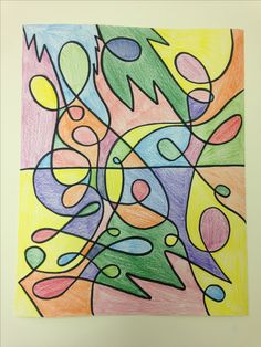Coloring: Intuitive Tangle by Queen Brooks