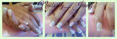 Gel polish...wedding nails!