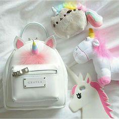 US Mini Backpack For Girls Cute Unicorn Shoulder Bags Women PU Leather Backpack - Handbag For Girls - Ideas of Handbag For Girls Cute Unicorn, Unicorn Party, Grafea Backpack, Leather Backpack, Pu Leather, Cute Mini Backpacks, Unicorn Fashion, Unicorn Crafts, Cool Stuff