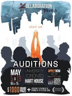 Kollaboration Toronto 6 Auditions