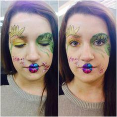 Bellus Academy make-up artistry students practiced Avantgarde in class this week! #bellusacademy #makeup #avantgarde