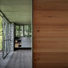 Designed by Italian firm Act Romegialli Architects, Green Box is a small camouflaged garage for a private residence situated on the Raethian Alps.