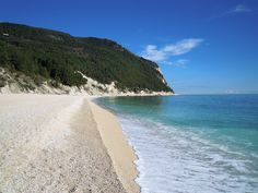spiaggia di San Michele -   #sirolo #rivieradelconero #conero #italy #marche #tourism, riviera del conero