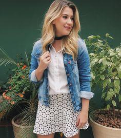 Quando eu gosto do look eu repito mesmo haha (usei em BH)! Camisa shorts/saia e jeans da @damyller Confortável e estiloso é assim que eu gosto #ad #meujeansdamyller