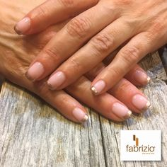 Gorgeous Rose gold French tips on this gel polish manicure  #getfabriziofabulousnails #fabriziosalonspa #rosegoldfrenchmanicure #rosegoldtippednails #nailartistry #customnaildesigns #delawarenailsalons