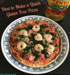 How to Make a Quick Gluten Free Pizza [VIDEO]  #GlutenFree #GF@CentoFineFoods