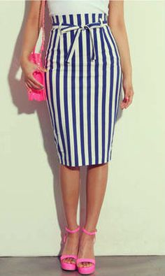 Love the skirt, but not the pink accessories