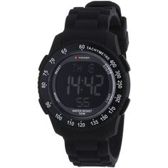 New Unisex Sector R3251572025 Digital Display Expander Black Strap Watch