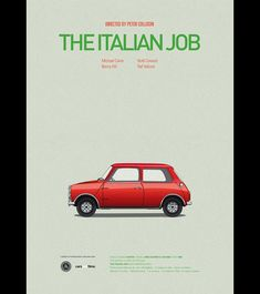 3: The Italian Job | Star Vehicles: Check Out Hollywood's Most Iconic Cars | Co.Design: business + innovation + design