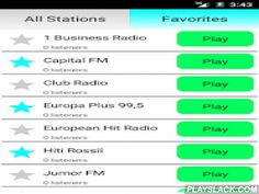 Latvian Radio Online  Android App - playslack.com ,  Listen to Latvia Radio completely free! Many radio stations with different music genres like pop, rock, electro, dance, electro, hip hop, disco, RnB and classic. Examples of stations are:- Latvijas Radio 1- European Hit Radio- Hiti Rossii- Latgolys Radeja- Riga Radio- Super FM- Top Radio- Radio Baltkomand others. If you like latvian and international music, this is the best app for you!