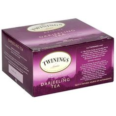 I LOVE darjeeling tea - this is just probably the best buy I found.  Twinings Darjeeling Tea, Tea Bags, 50-Count Boxes (Pack of 6) by Twinings, http://www.amazon.com/dp/B000F4F95C/ref=cm_sw_r_pi_dp_mIyVqb08CZ15R