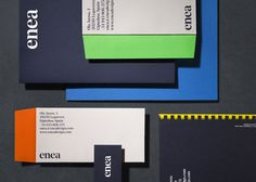 Visual identity and stationery for furniture design and manufacturing business Enea designed by Clase bcn