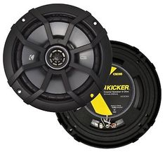 Alpine 6.5-inch Coaxial 2-Way Speaker //1995 And Up Select GM Speaker Adapter