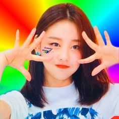 Rainbow Aesthetic, Kpop Aesthetic, South Korean Girls, Korean Girl Groups, My Girl, Cool Girl, Girl Group Pictures, Olivia Hye, Sooyoung
