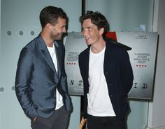 London Anthropoid premiere. Jamie Dornan, Cillian Murphy.