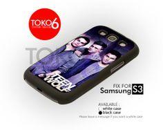 AJ 3876 Teen Wolf Man's - Samsung Galaxy S III Case | toko6 - Accessories on ArtFire