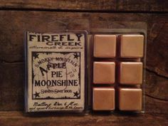 6 oz. Large Aroma Bar- melting wax scented in Apple Pie Moonshine on Etsy, $5.00