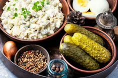 Buy Russian meat salad Olivier by Nikolaydonetsk on PhotoDune. Russian salad Olivier, with meat and vegetables. Mayonnaise, Meat Salad, Plate, Dinner Dishes, Egg Recipes, Tofu, Cucumber, Eggs, Potatoes