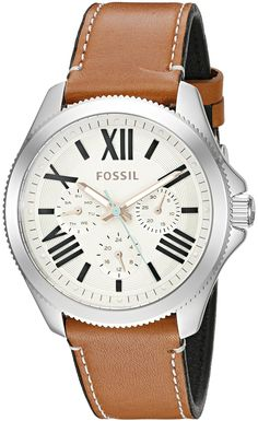 Fossil Cecile Multifunction Leather Watch >>> Read more reviews of the watch by visiting the link on the image.
