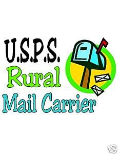 Rural Mail Carrier  .I HOPE YOU'LL FOLLOW ANY OF MY 5 GREAT BOARDS CONCERNING THE POST OFFICE MAILMEN VEHICLES MAILBOXES AND OTHER THINGS